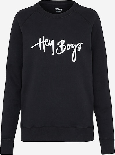 Hey Honey Sweater 'Boys' in schwarz, Produktansicht