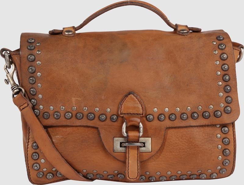 Campomaggi Handtasche mit Nieten