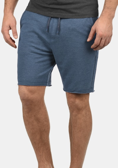 BLEND Sweatshorts 'Julio' in blau: Frontalansicht