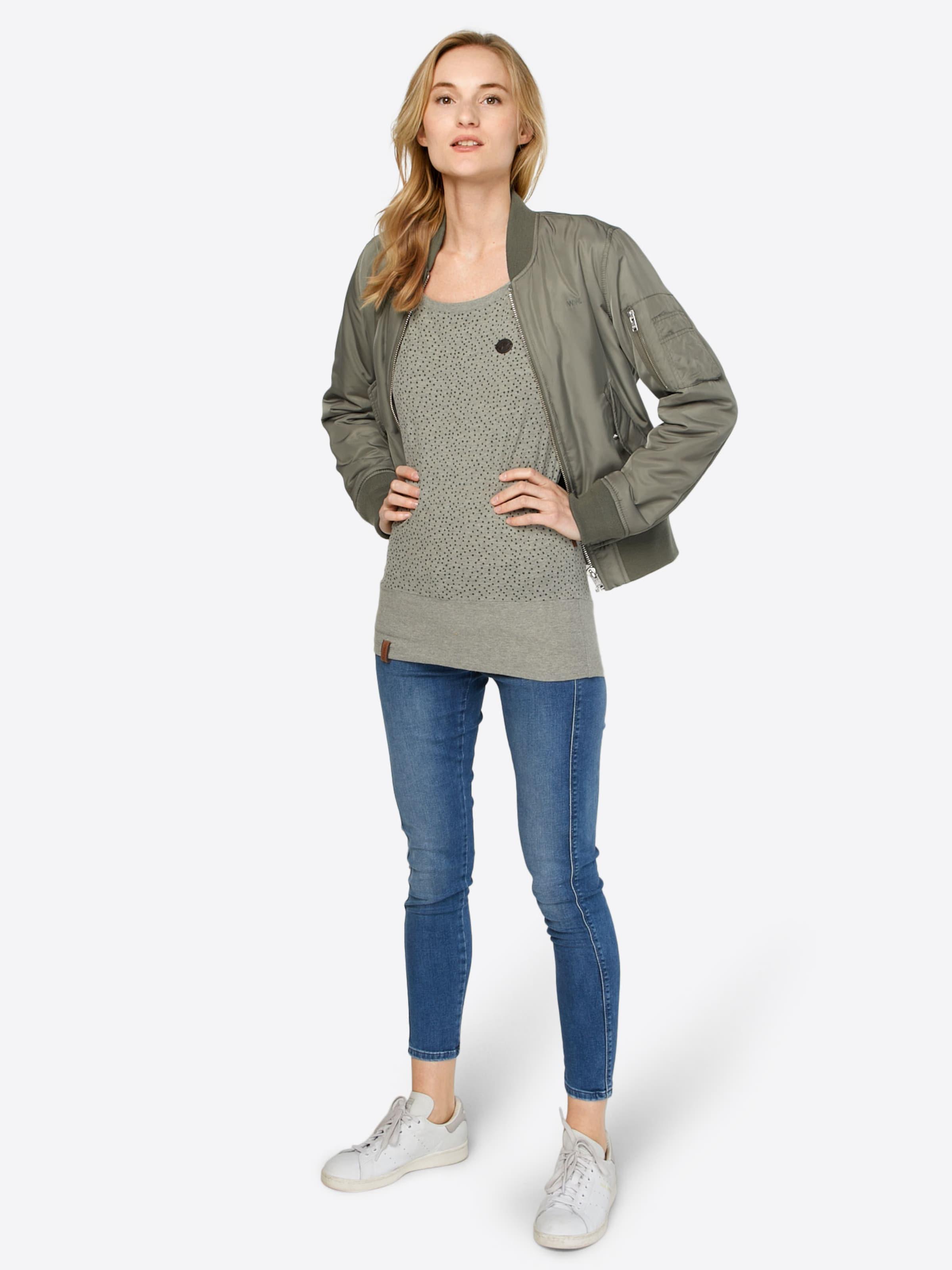 Naketano Dizzel Shirt 'dizzel In Dizzel' Grau nPO80wk