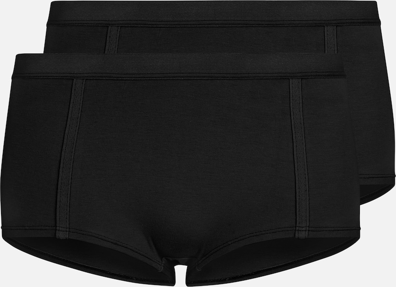 VATTER 'Easy Emma' Boy Short in schwarz, Produktansicht
