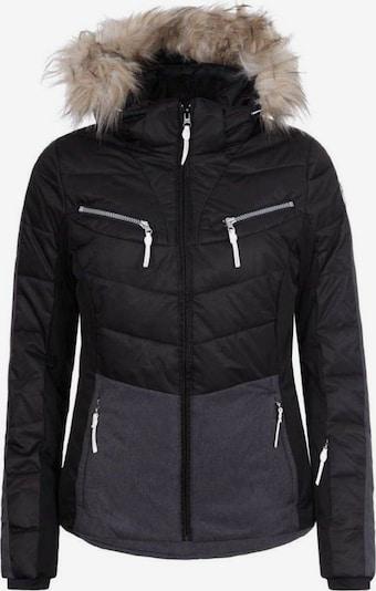ICEPEAK Jacke 'Valda' in grau / schwarz, Produktansicht