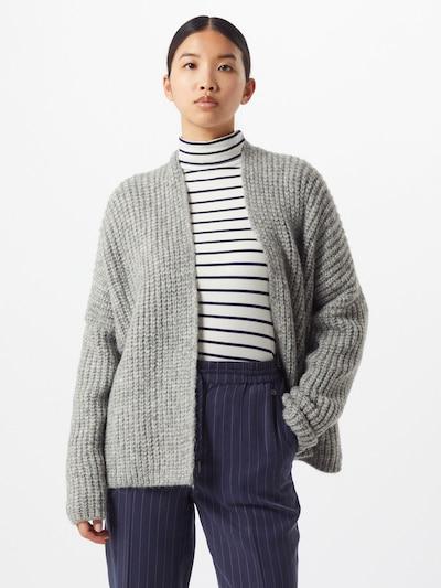Herrlicher Pullover 'Alissa' in graumeliert, Modelansicht