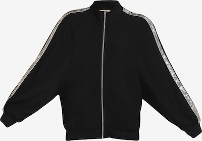 MYMO Jacke in schwarz / silber, Produktansicht