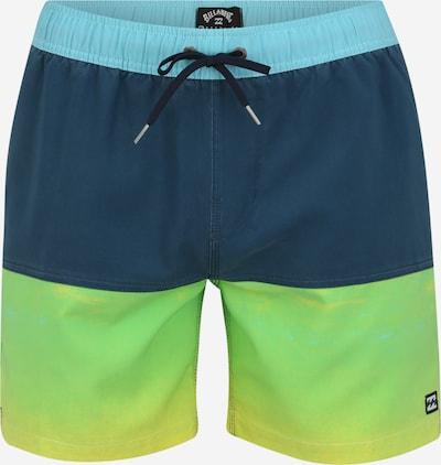 BILLABONG Sporta peldbikses tumši zils / citronkrāsas, Preces skats