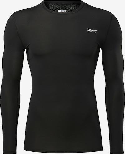 REEBOK Langarmshirt in schwarz, Produktansicht