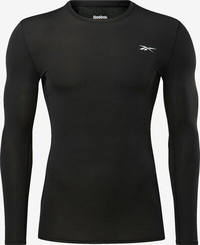 Tricou funcțional REEBOK pe negru, Vizualizare produs