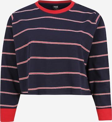 Urban Classics Curvy Shirt in Rot