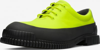 CAMPER Lace-Up Shoes 'Pix' in Neon yellow / Black, Item view