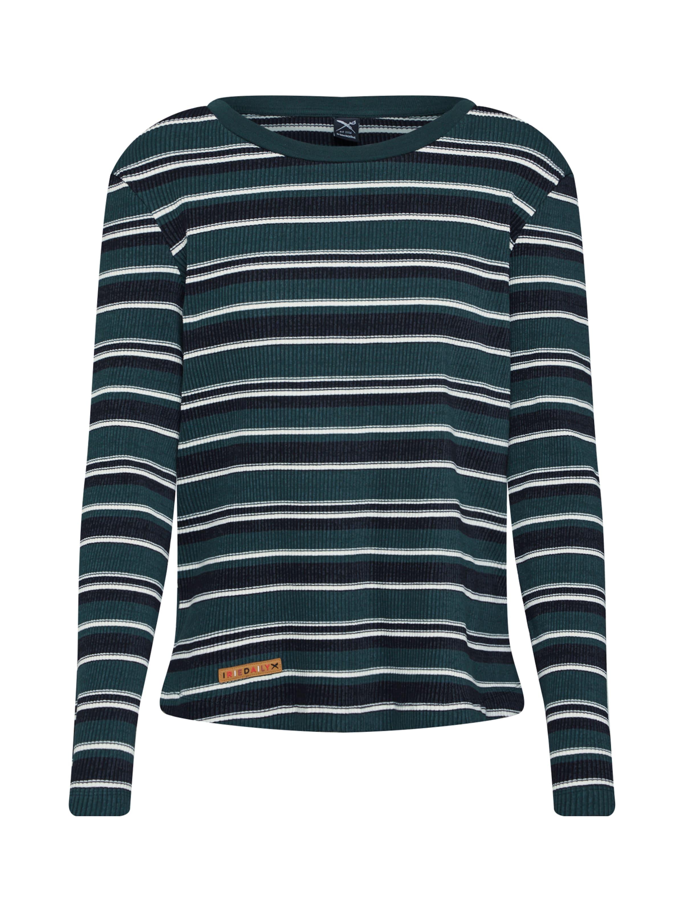 'emma shirt Peel Ls' Iriedaily T Vert Foncé En zMpSGqUV