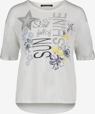 Betty Barclay Oversize-Shirt mit Placement in weiß, Produktansicht