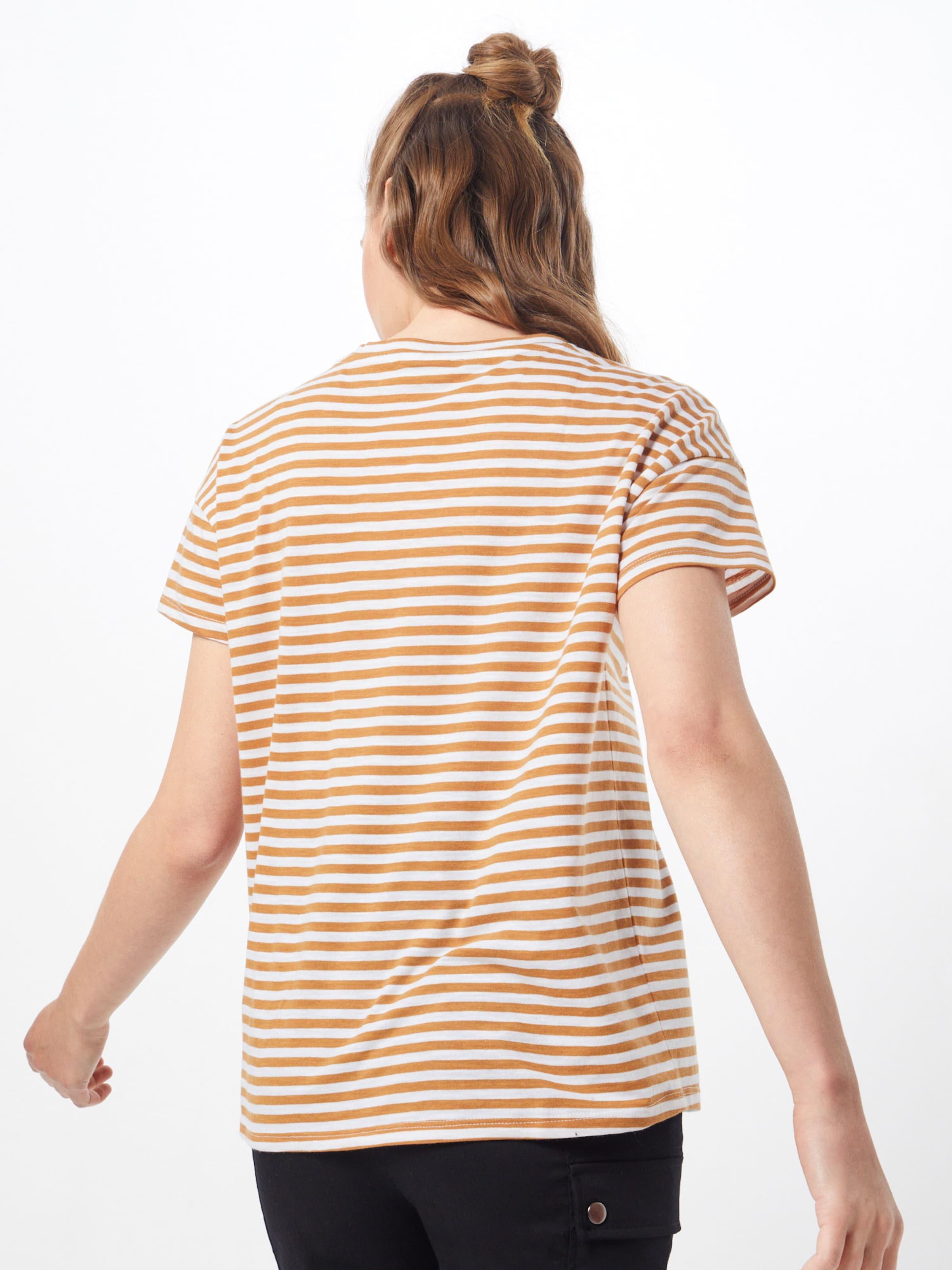 Shirt 'command' BraunWeiß May Noisy In wTPXuOZki