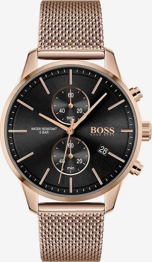 BOSS Casual Uhr 'Associate' in gold / schwarz, Produktansicht