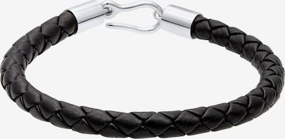 PAULO FANELLO Armband in schwarz / silber, Produktansicht