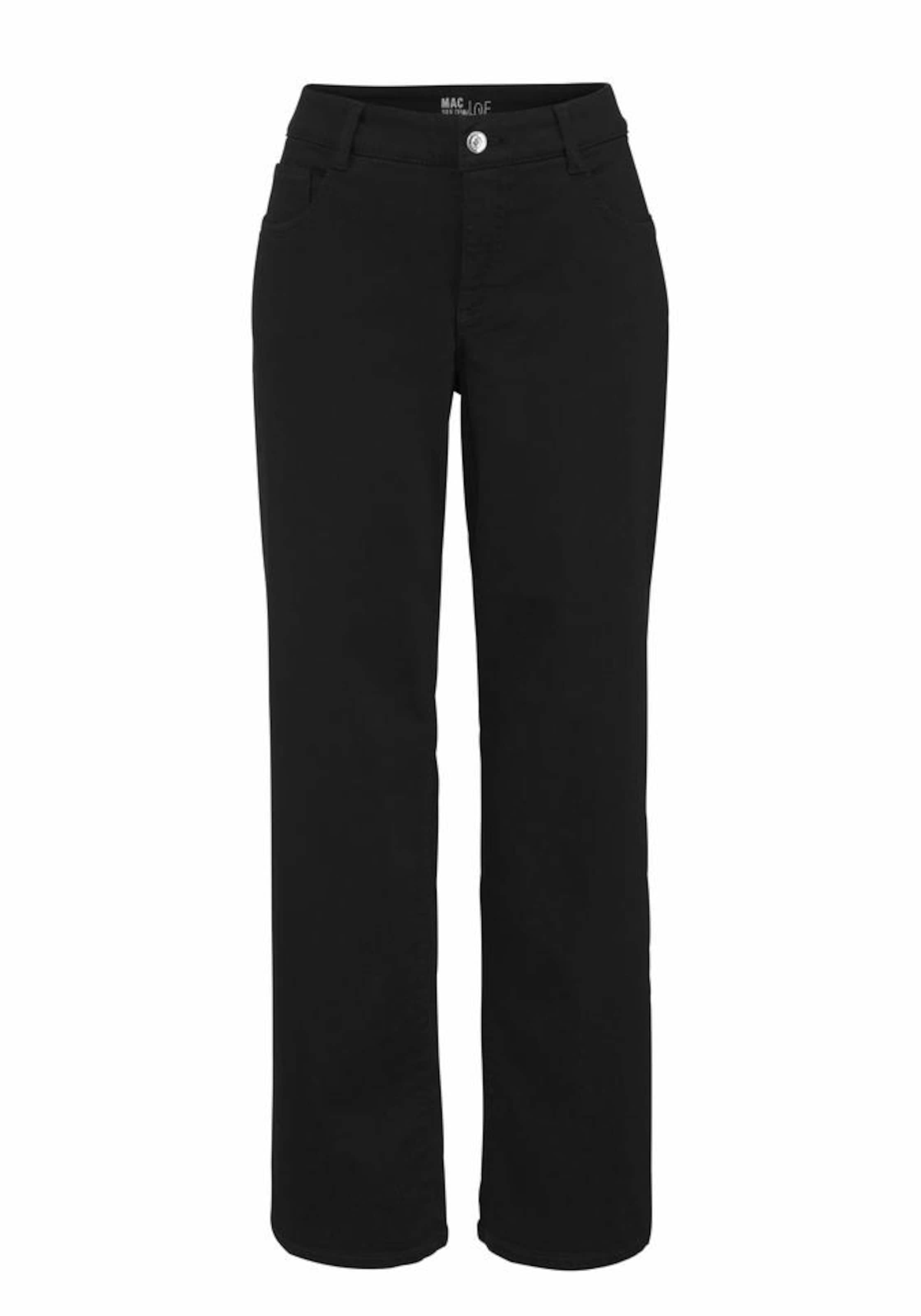 Jeans Bequeme In 'grazia' Mac Schwarz vOm0N8nw