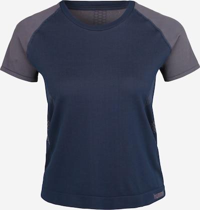 Hummel Functioneel shirt 'CALYPSO' in de kleur Donkerblauw / Grijs, Productweergave