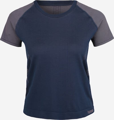 Hummel T-Shirt 'CALYPSO' in dunkelblau / grau, Produktansicht
