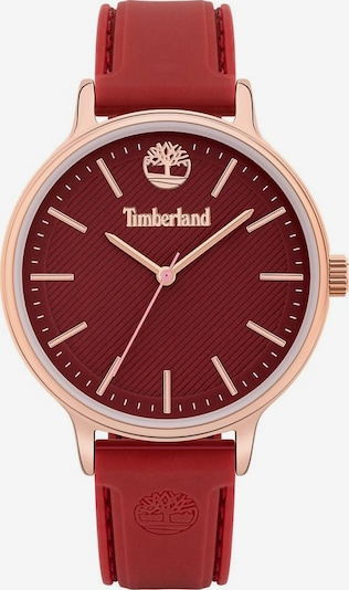 TIMBERLAND Analog Watch 'CHESLEY, TBL15956MYR.16P' in Rose gold / Carmine red, Item view