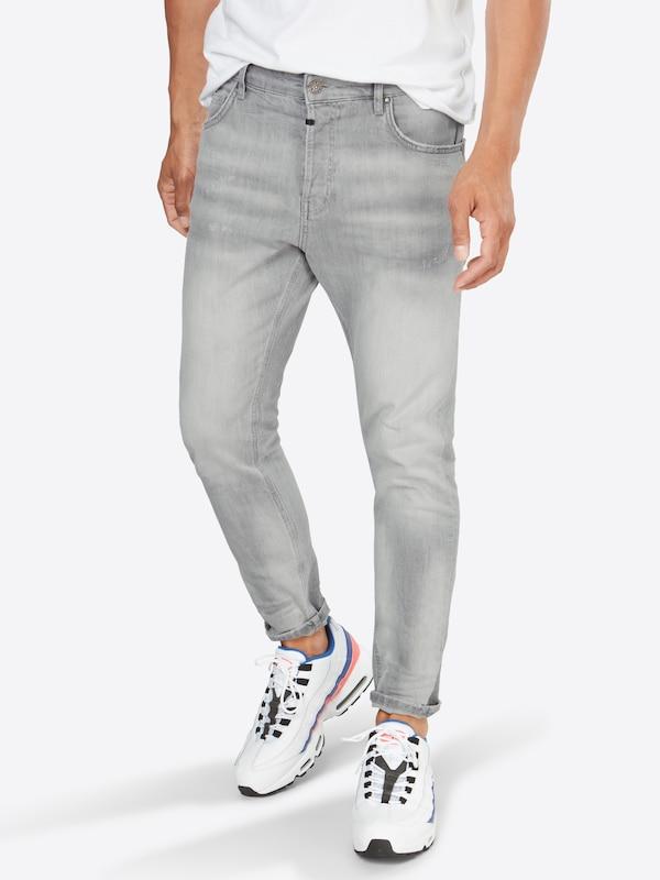 Hellgrau The Jeans 'billy Biker' Tigha pvwzIqqxE