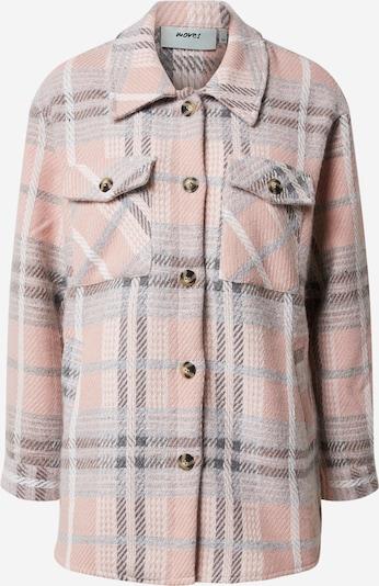 Moves Jacke 'Susti 1866' in grau / rosa, Produktansicht