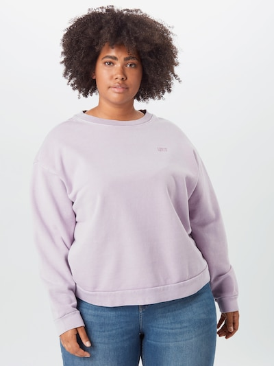 Levi's® Plus Sweat-shirt 'DIANA' en lavande: Vue de face