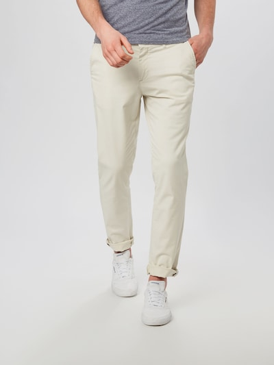 JACK & JONES Hose 'MARCO' in creme, Modelansicht
