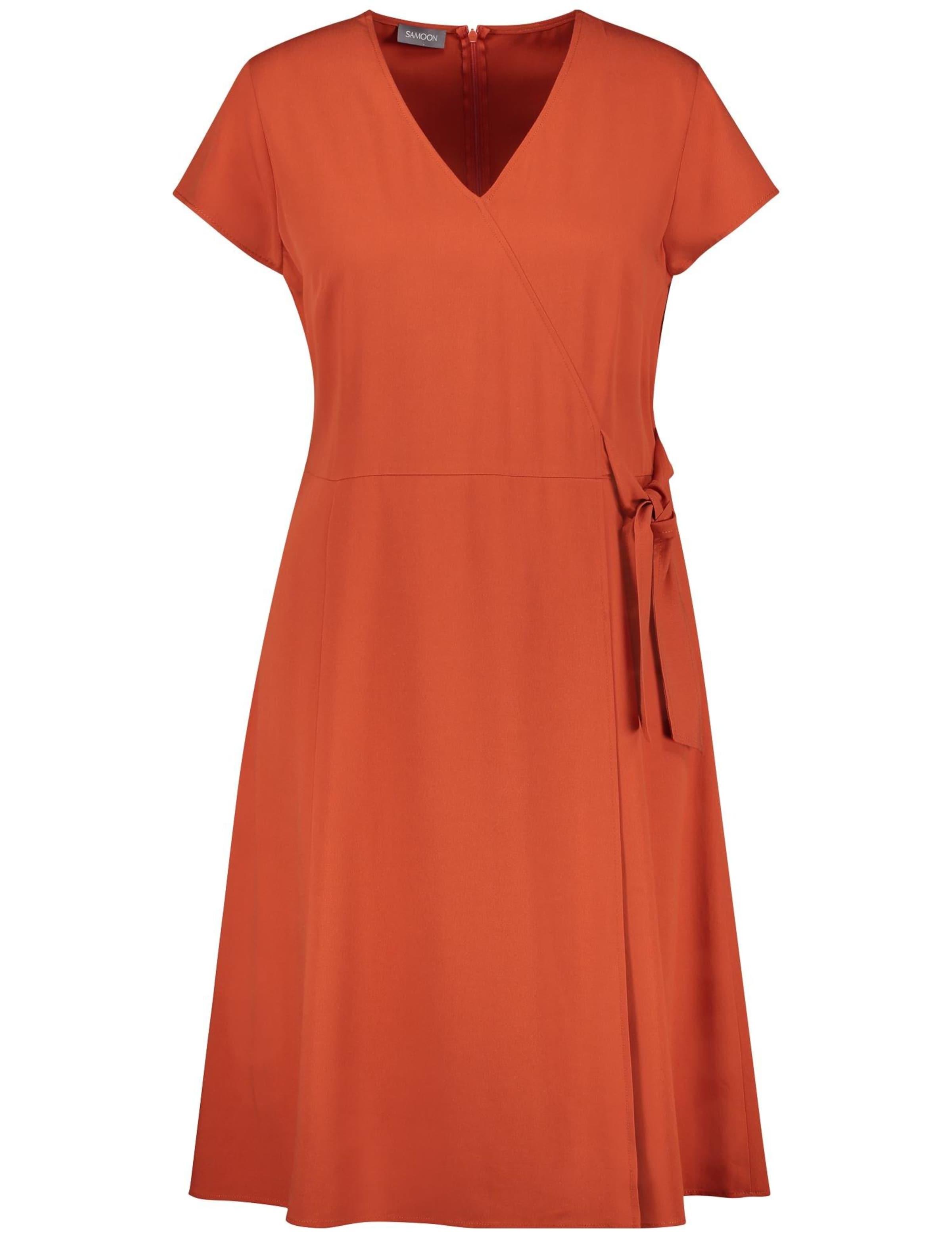 Samoon Samoon Samoon Orange Kleid In Kleid In Kleid Orange In Samoon Orange 0wmN8n