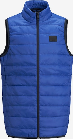 Jack & Jones Junior Weste in blau, Produktansicht