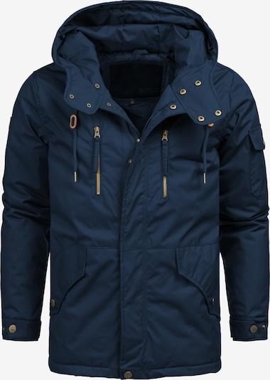 INDICODE JEANS Winterjas 'Elmhurts' in de kleur Navy, Productweergave