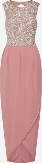 LACE & BEADS Damen - Kleider 'Amera Maxi' in rosa / silber, Produktansicht