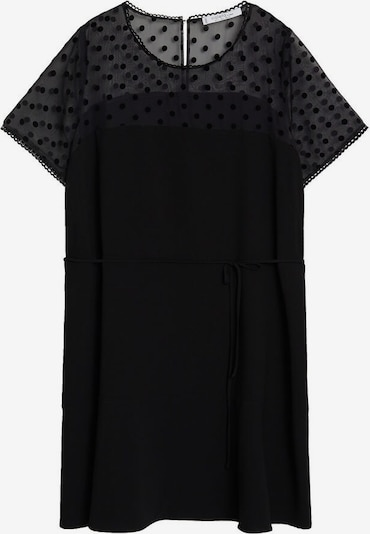 VIOLETA by Mango Kleid in schwarz: Frontalansicht