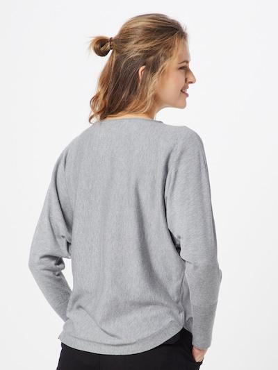 MORE & MORE Sweter w kolorze nakrapiany szarym: Widok od tyłu