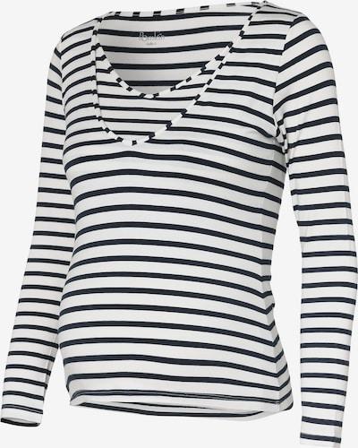 POMKIN Shirt 'Zoe' in kobaltblau / weiß, Produktansicht