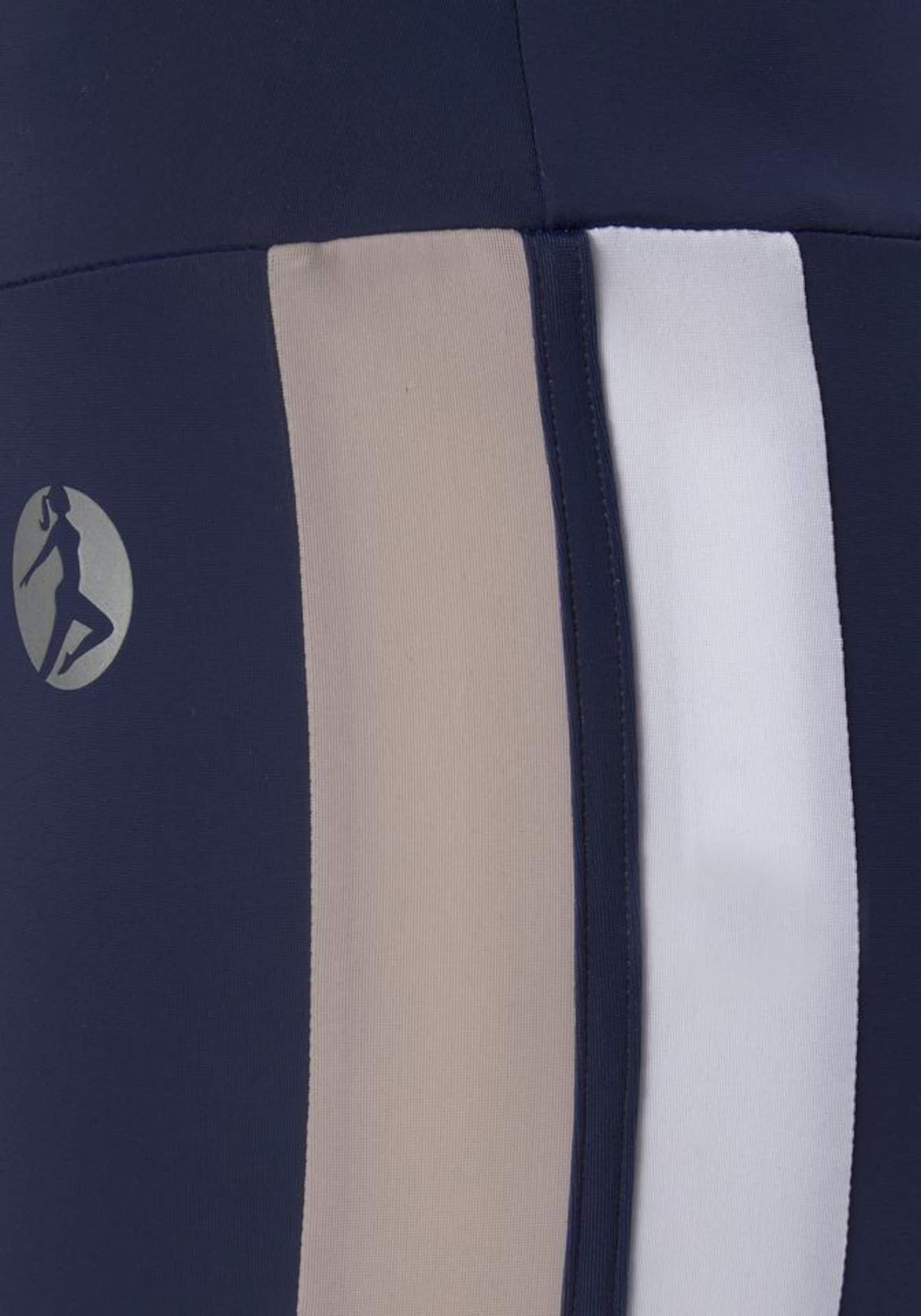 By Leggings Lascana In 'colour Blocking' Active Nachtblau EDe9IWH2Y