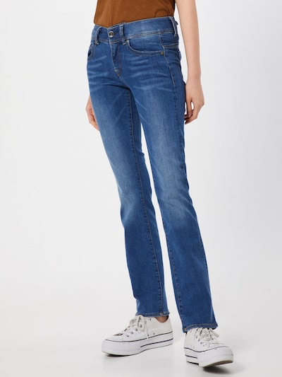 G-Star RAW Jeans 'Midge' in blue denim, Modelansicht