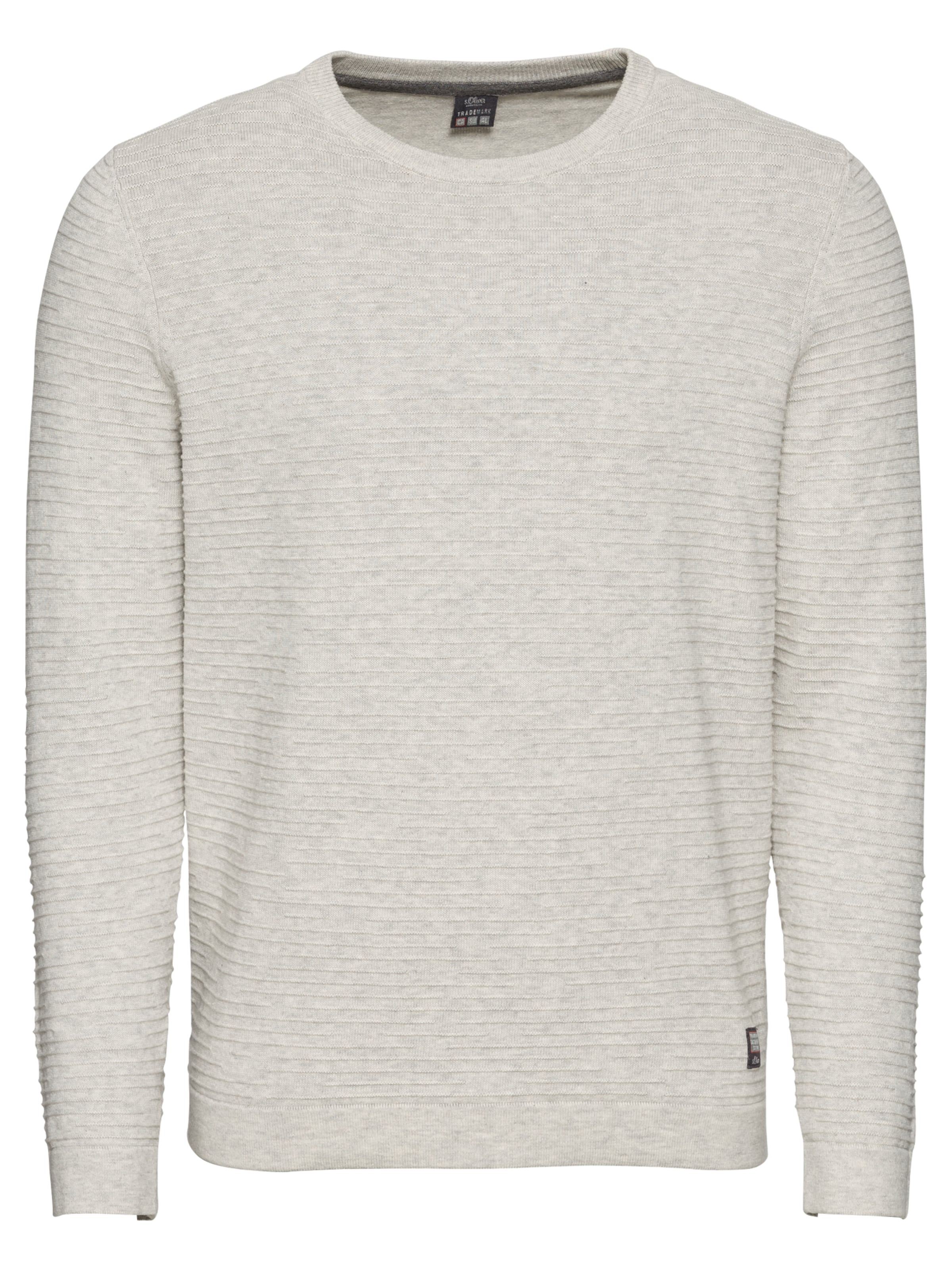 oliver Pullover Red S Grau Label In y76bfgY