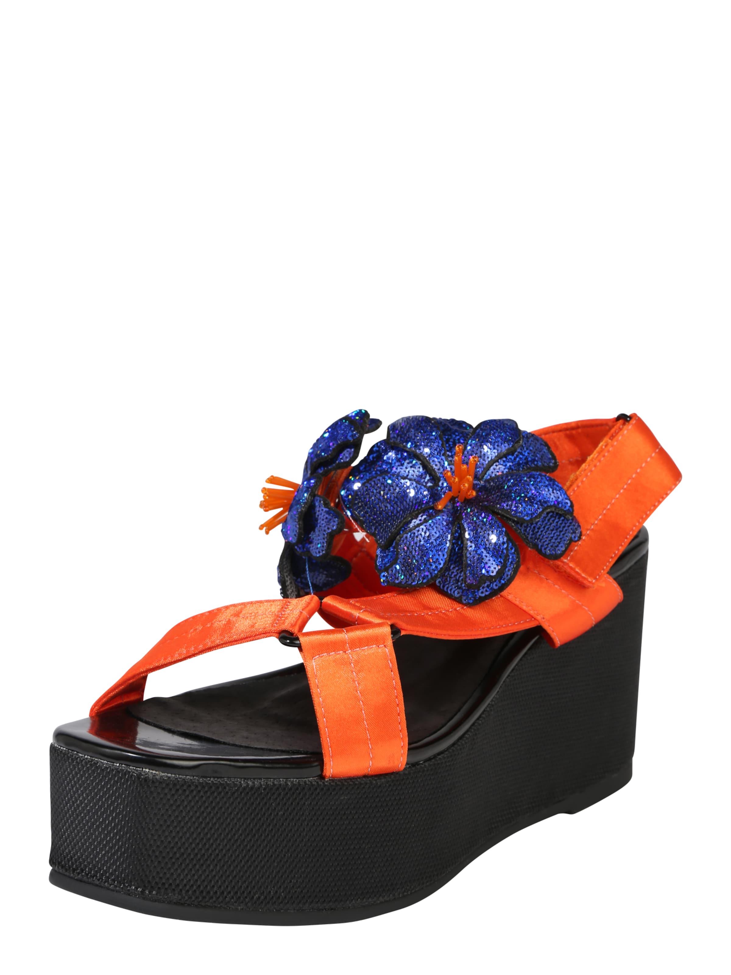 Soixantesept Sandales Avec Ceinture « Prennent » Orange akpC7i2nVH,
