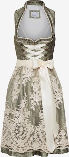 MARJO Kleid 'Galia' in beige / grün, Produktansicht