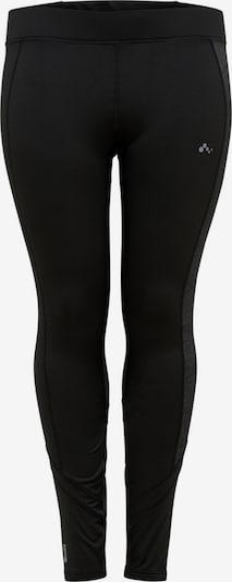 ONLY PLAY Curvy Laufhose in schwarz, Produktansicht