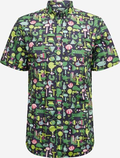 LACOSTE Lacoste X Jeremyville Hemd in marine / mischfarben, Produktansicht