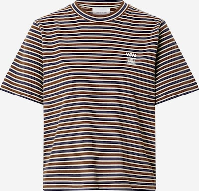 WOOD WOOD Shirt 'Alma' in navy / weinrot, Produktansicht