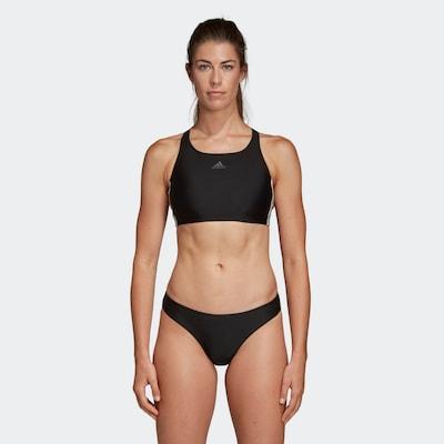ADIDAS PERFORMANCE Bikini de sport en noir / blanc, Vue avec modèle