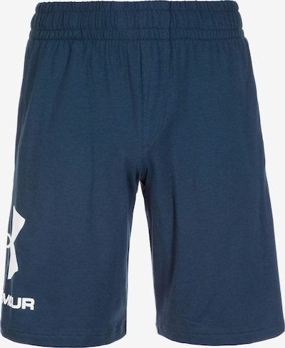 UNDER ARMOUR Sportshorts in navy / weiß, Produktansicht