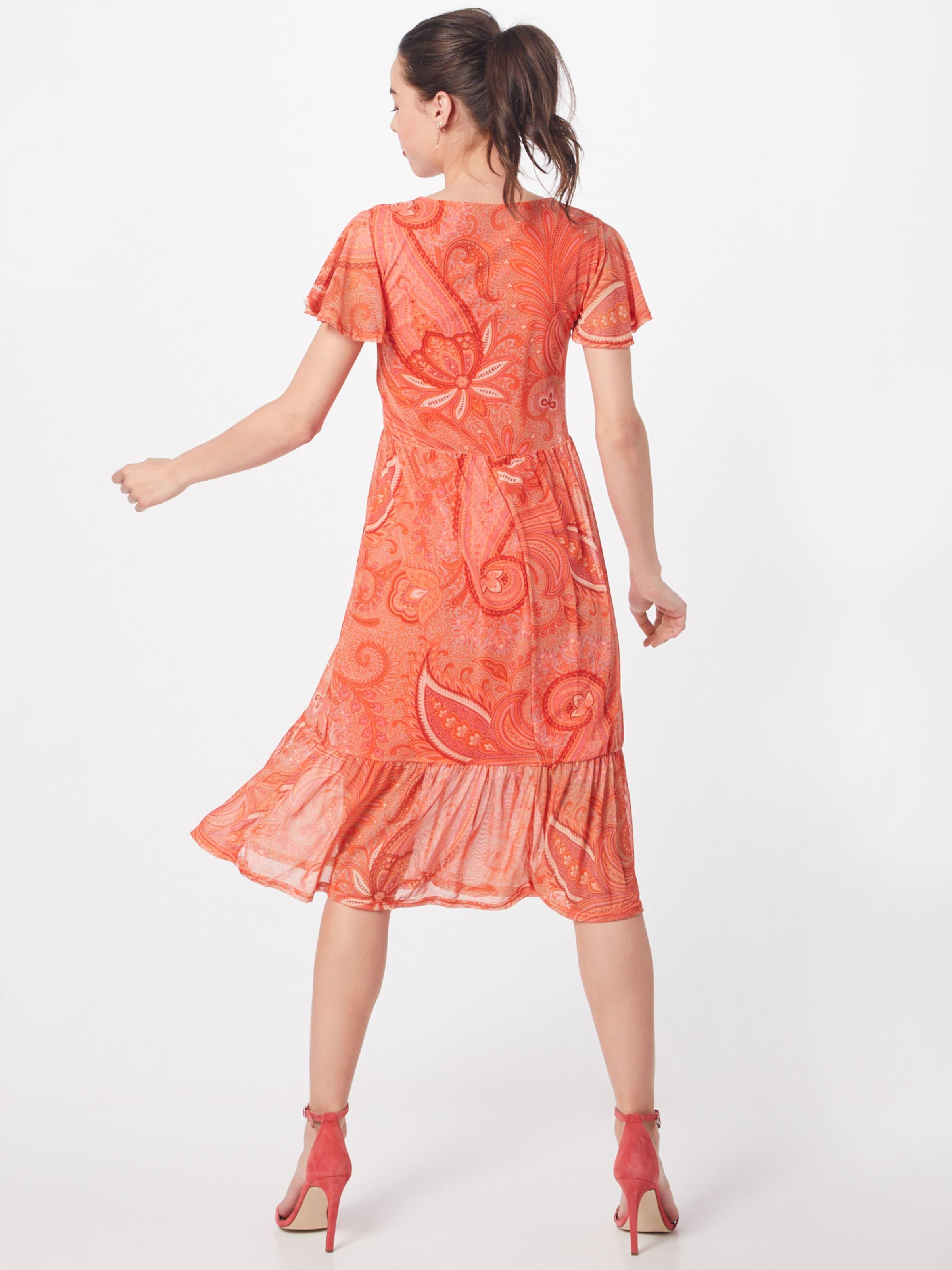 Kleid Kleid OrangeDunkelorange Kleid Cream OrangeDunkelorange Cream In 'lina' 'lina' In Cream Yvf6ygb7