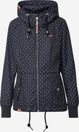 Ragwear Jacke 'DANKA' in schwarz / weiß, Produktansicht