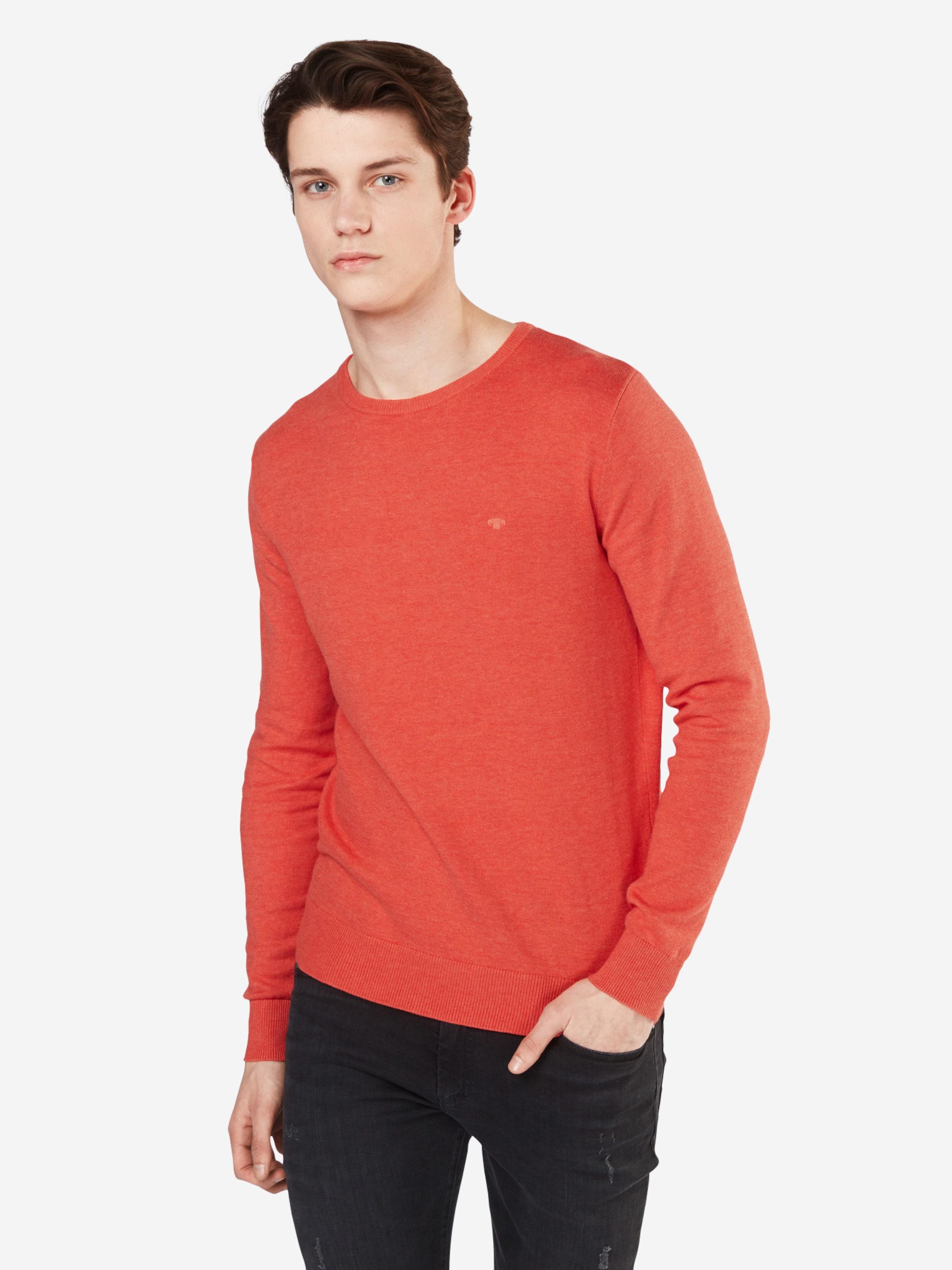 TOM TAILOR Pullover 'basic crew-neck sweater' Spielraum Echt Aus Deutschland Günstigem Preis YbifytxW