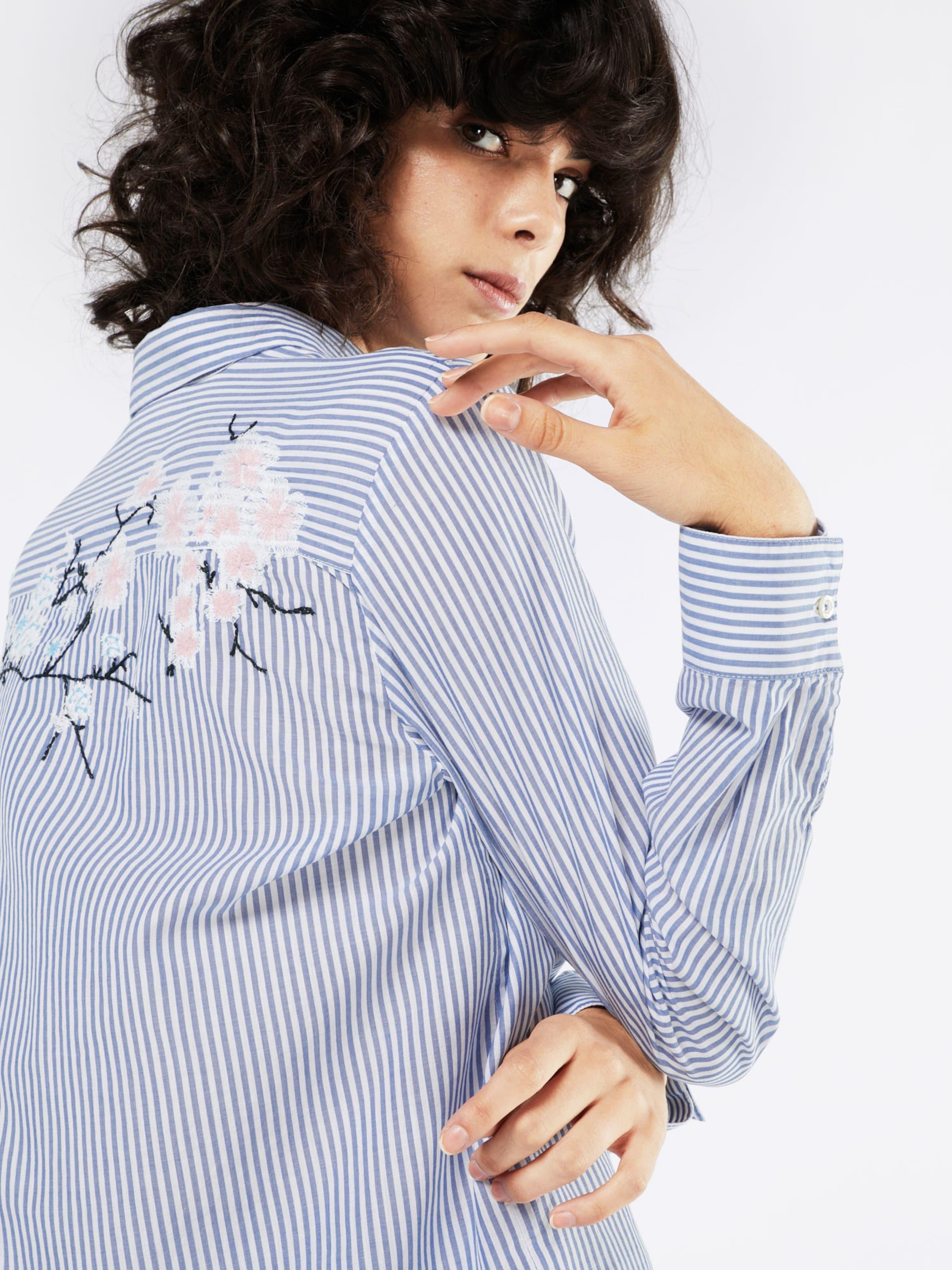Emily Van Den Bergh Bluse im Streifenmuster Shop Online-Verkauf 2uCvBYJC
