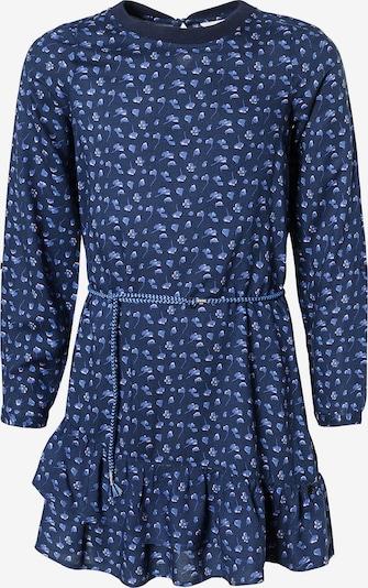 TOM TAILOR Kleid in blau / rauchblau / dunkelblau / weiß, Produktansicht