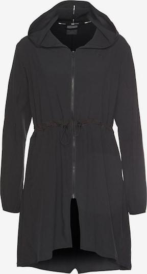 PUMA Sportjas 'Studio Flow' in de kleur Zwart, Productweergave