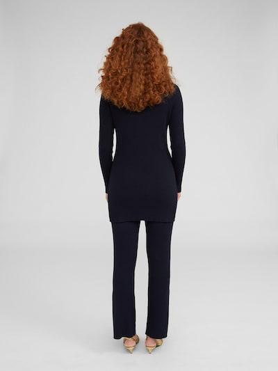 EDITED Pantalon 'Iwan' en bleu nuit: Vue de dos